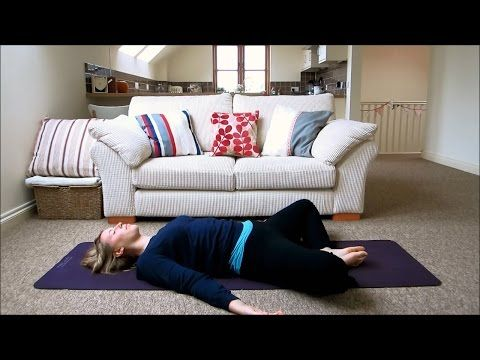 relaxing yoga for better sleep  night time / bed