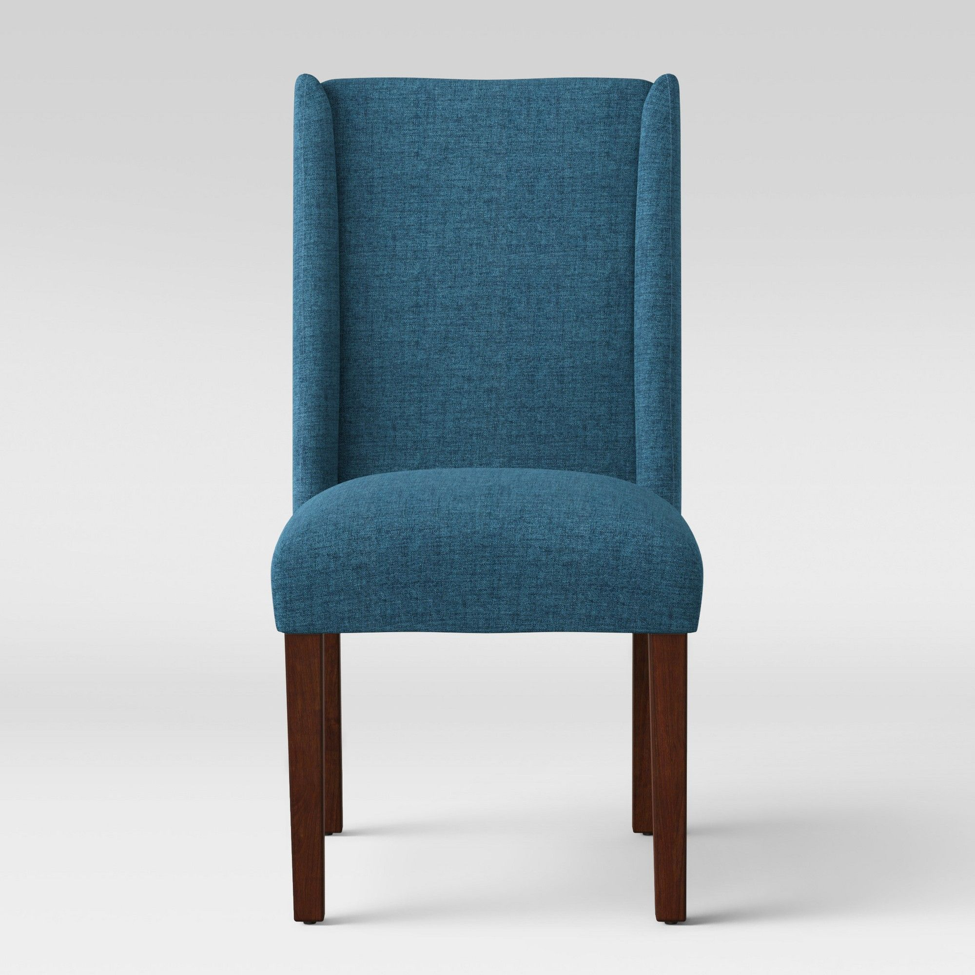 Lowell Modified Wingback Dining Chair Navy (Blue) - Fully Assembled ...