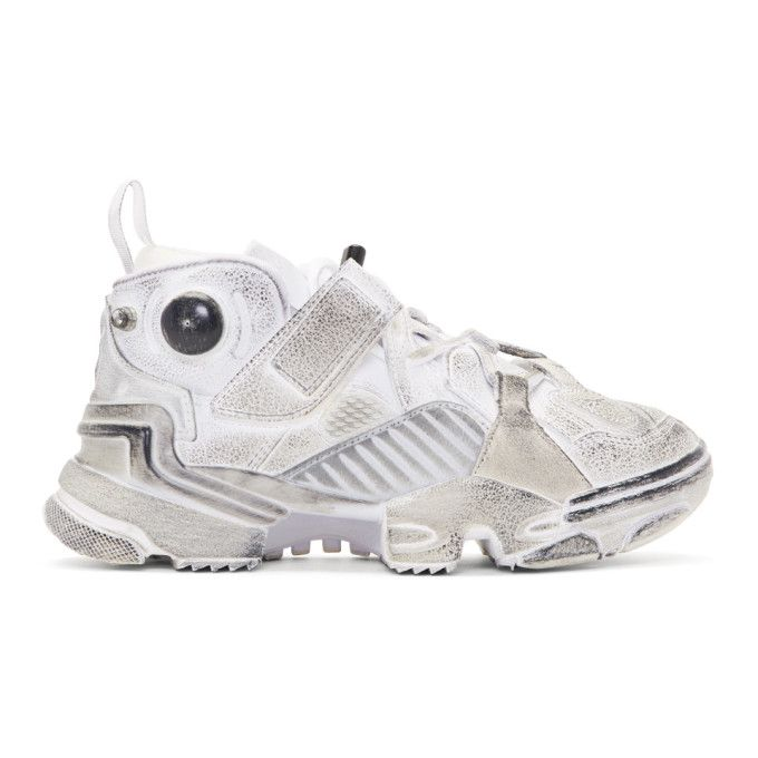 Vetements White Reebok Edition Genetically Modified Pump