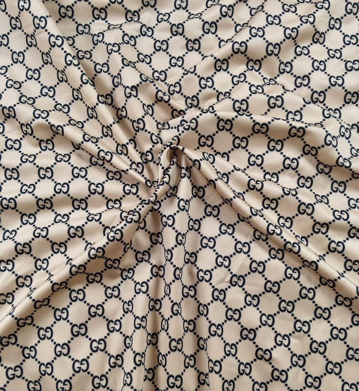 622f32cb5 Ritzy Baby Designs, LLC - Tan Gucci Inspired Fabric by the Yard, $19.95 (