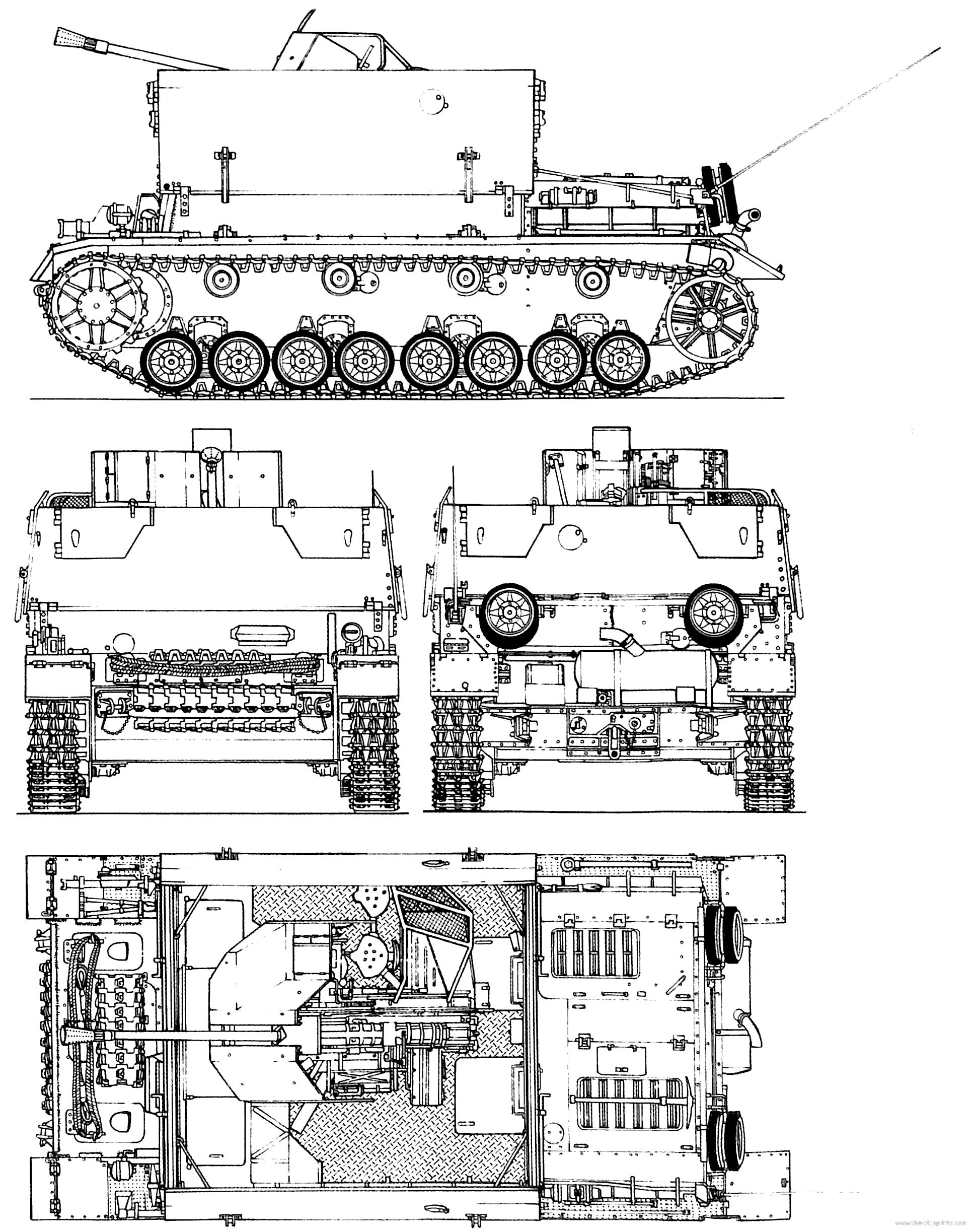 Sd Kfz 161 3 Flakpanzer Iv Mobelwagen 3 7cm Flak 43