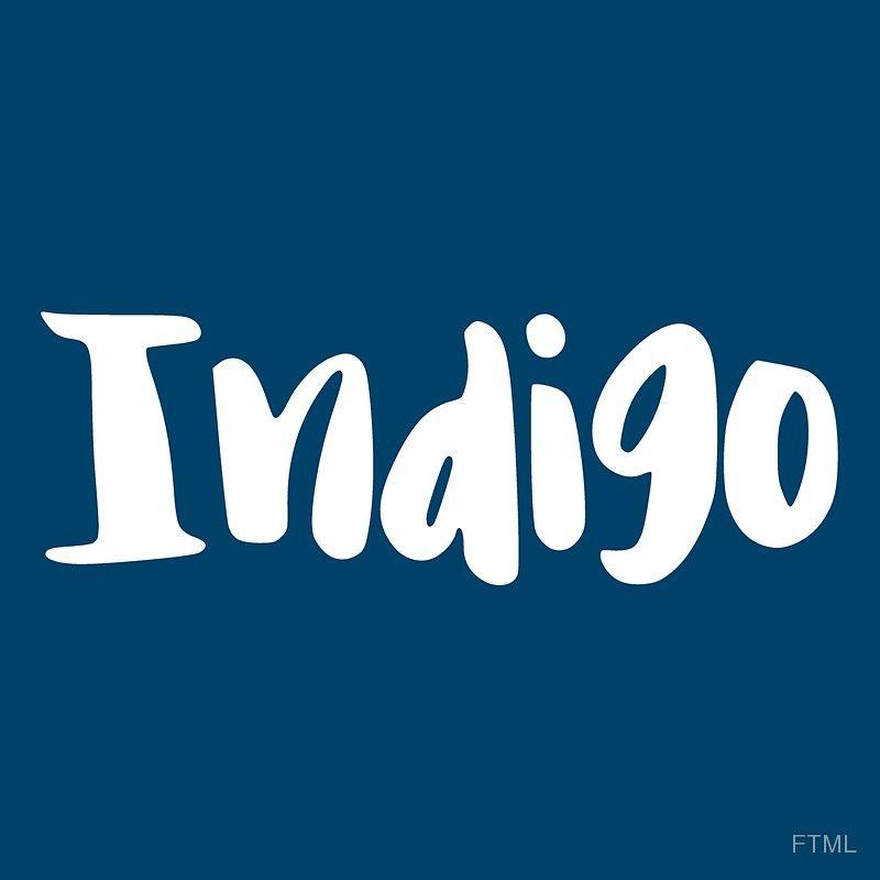 Indigo 7 sticker by ftml indigo vinyl sticker stickers