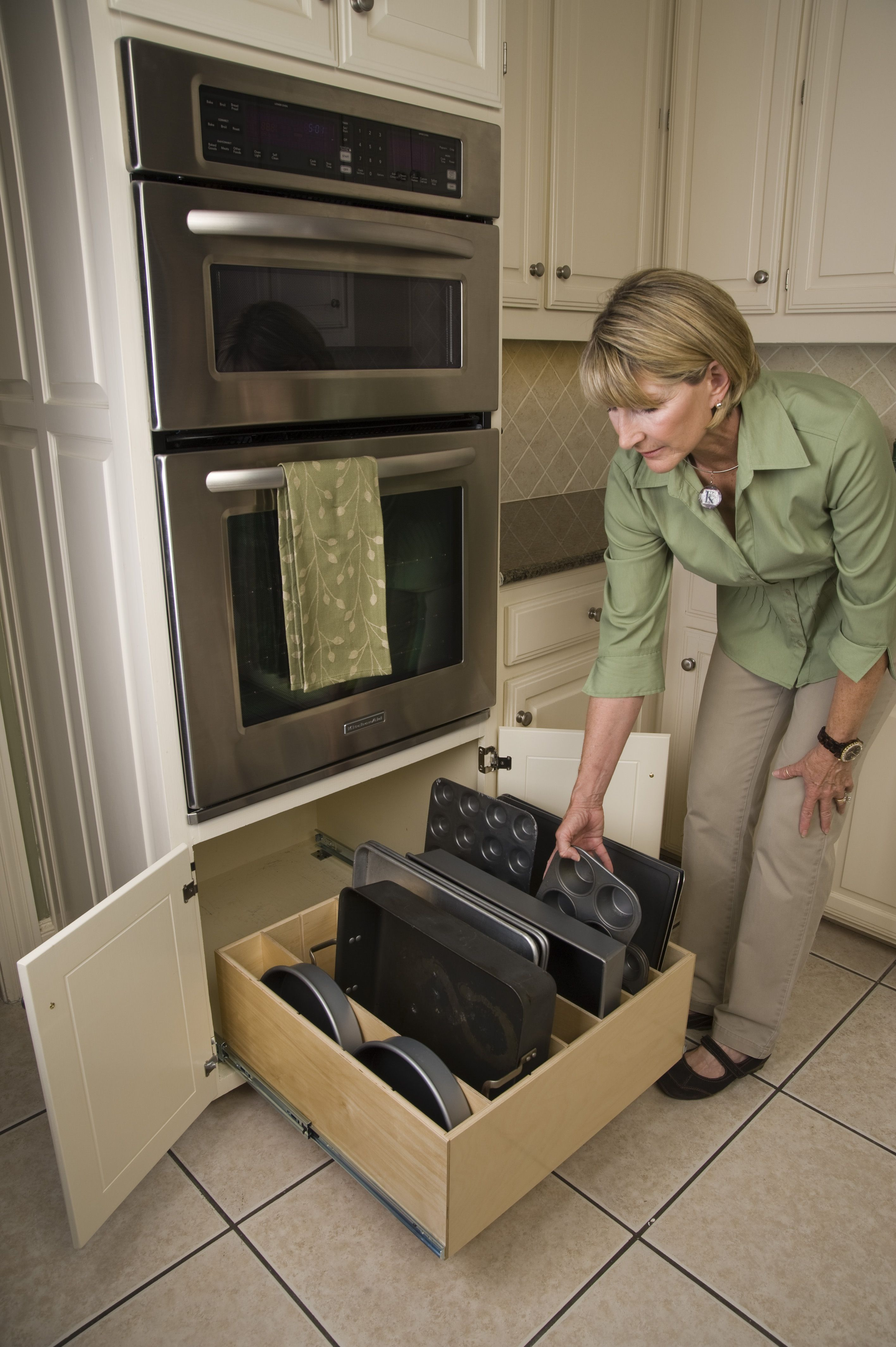 kitchen pull out shelves drop in farmhouse sinks slide make cooking easier