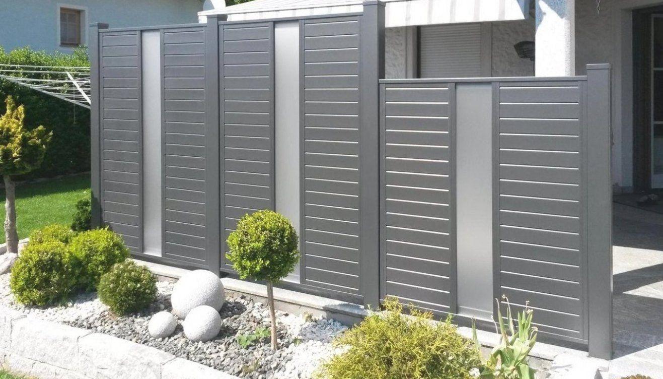 Brix Sichtschutz Felder Als Alu Passend Zu Vielen Brix Modellen Brix Sichtschutz Aus Aluminium Gartengesta In 2020 Garden Dividers Fence Design Garden Fence Panels
