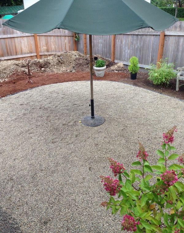 creative ways to enjoy tiny gardens spring projectsbackyard projectsoutdoor projectspea gravel gardenpatio ideasbackyard - Garden Design Gravel Patio