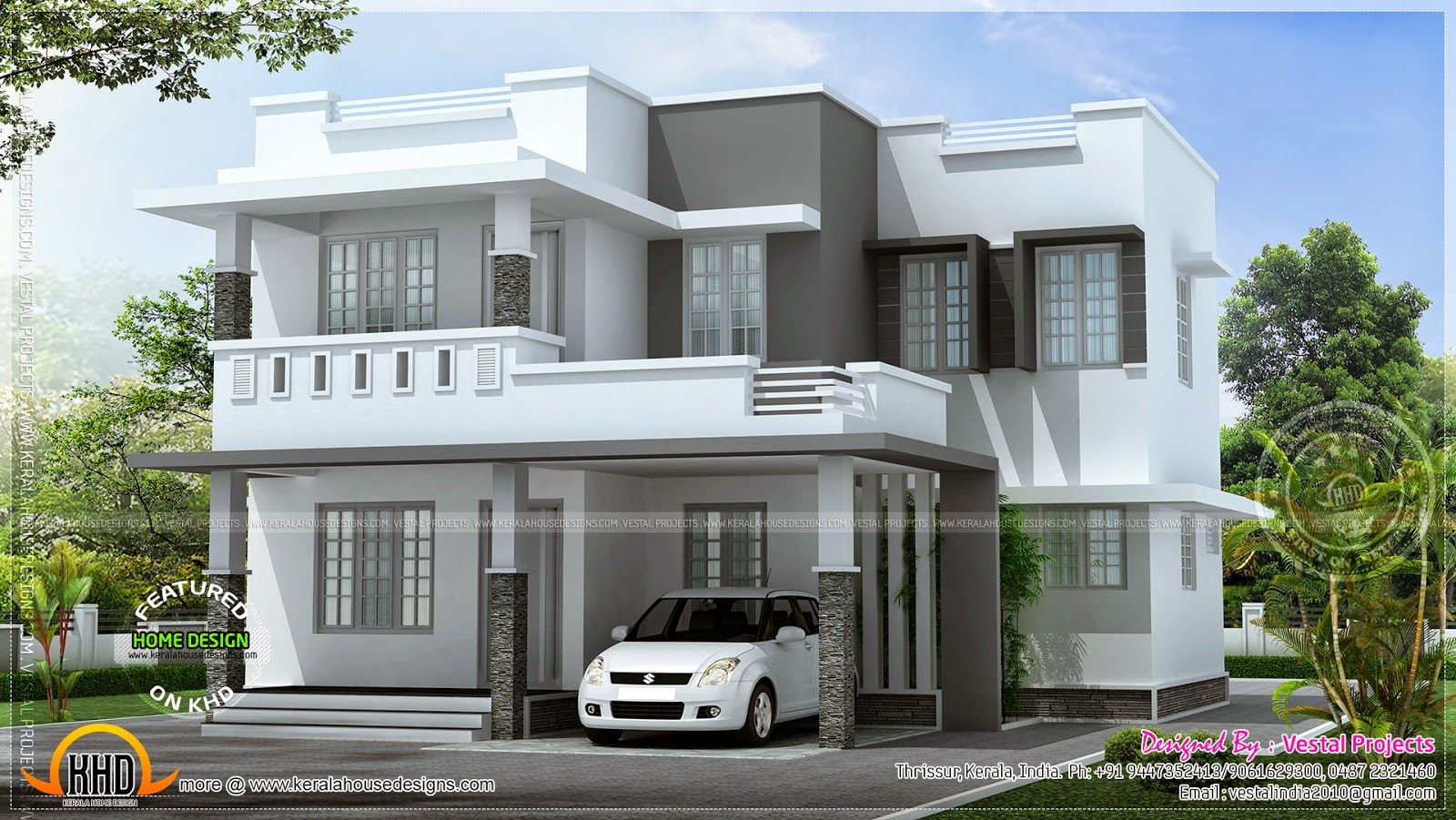 Pin by chanaka de on house exterior designssimple simple 2 storey house design two
