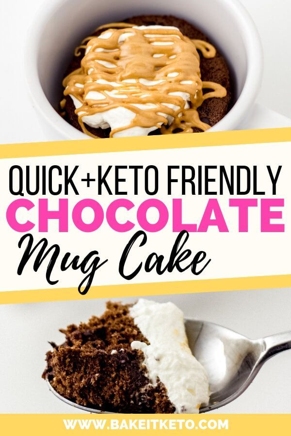So quick and easy! Low carb and keto friendly chocolate ...