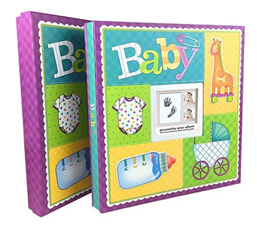 Idull Baby Scrapbook Kits 12x12 Acid Free For Baby Shower