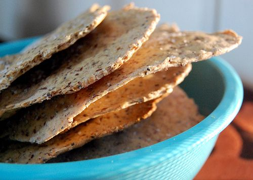 Three-Seed Crackers // neverhomemaker