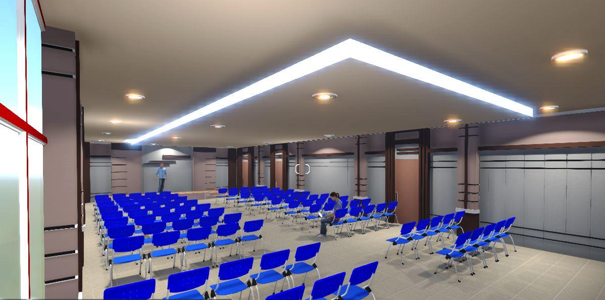Contoh Gambar Plafon Gereja  contoh desain interior desain interior aula minimalis