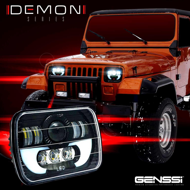 Jeep Yj Led Headlights Jeep Wrangler Yj Jeep Wrangler Jeep Yj