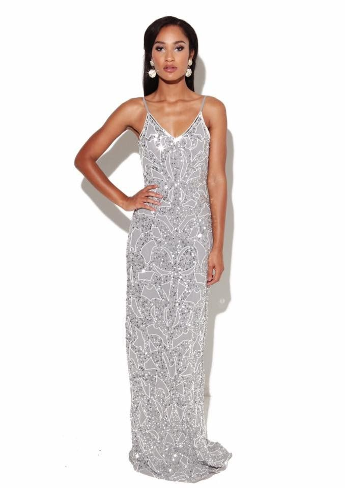 8d8a1fd97e2 Virgos Lounge - Julia Maxi Dress in Silver