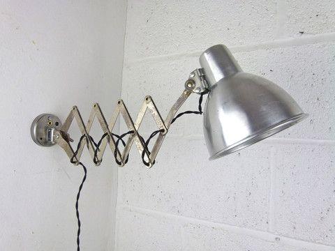 Scissor Arm Wall Lamp Eyespy