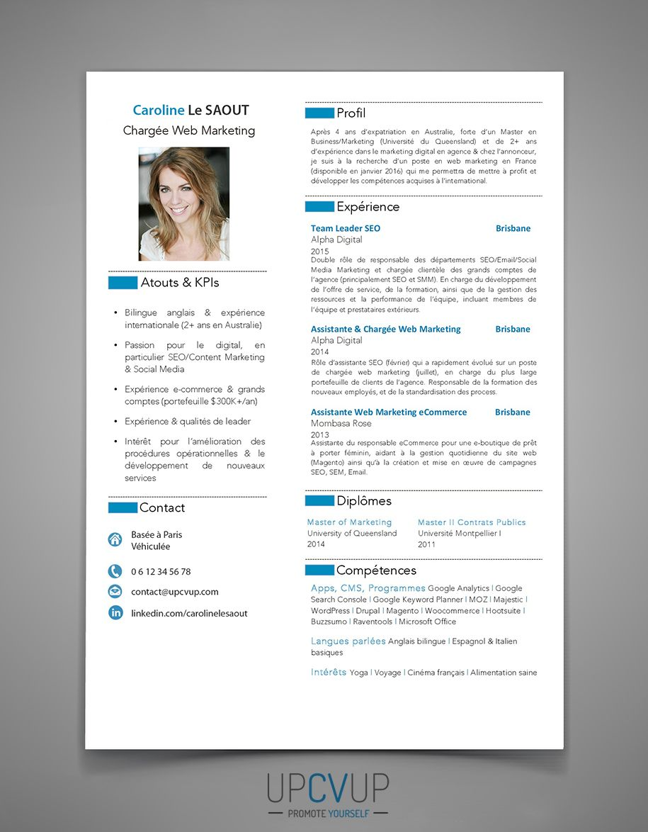 Exemple de CV sur mesure à personnaliser, confiez-nous la rédaction ...