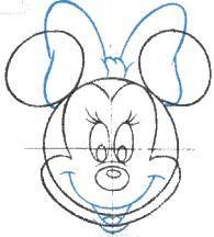 Patron Minnie Dessin Gateau Anniversaire Gateau Anniversaire Minnie Fete Theme Minnie Mouse