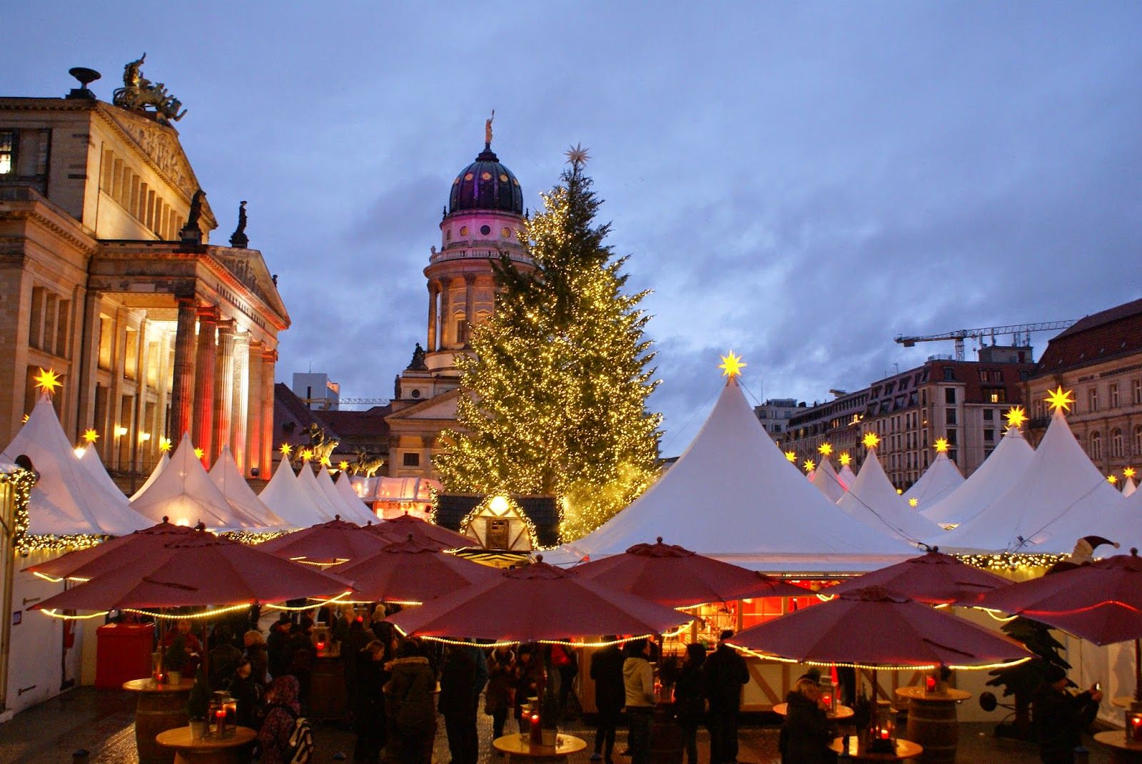 Coffee shops, food and stuff: Berlin Christmas markets