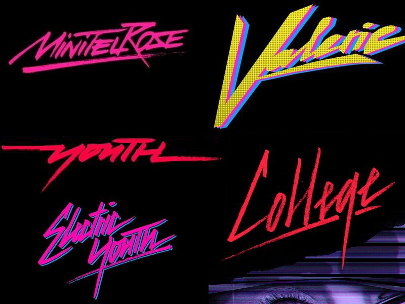 Nu disco, 80s - forum | dafont com | 80's Graphic | Typography fonts
