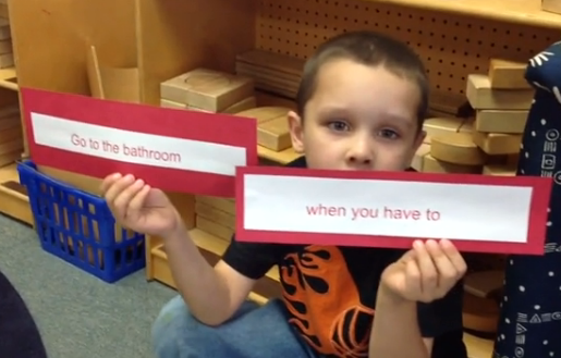Classroom rules video