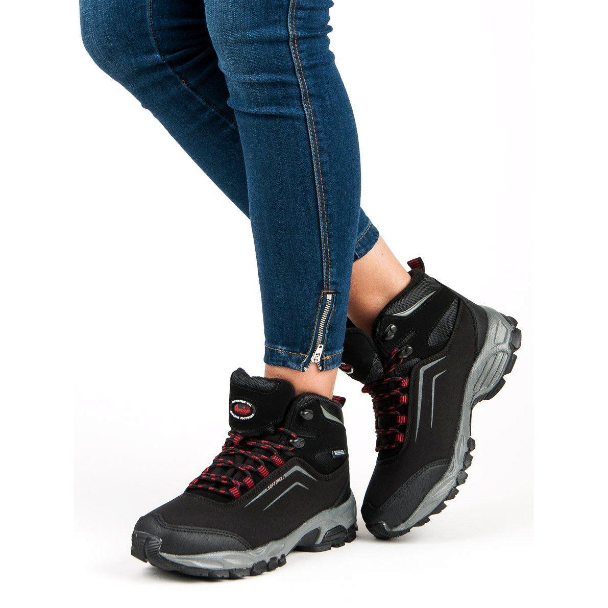 American Club Damskie Zimowe Buty American Czarne Trending Shoes Nike Air Max Shoes