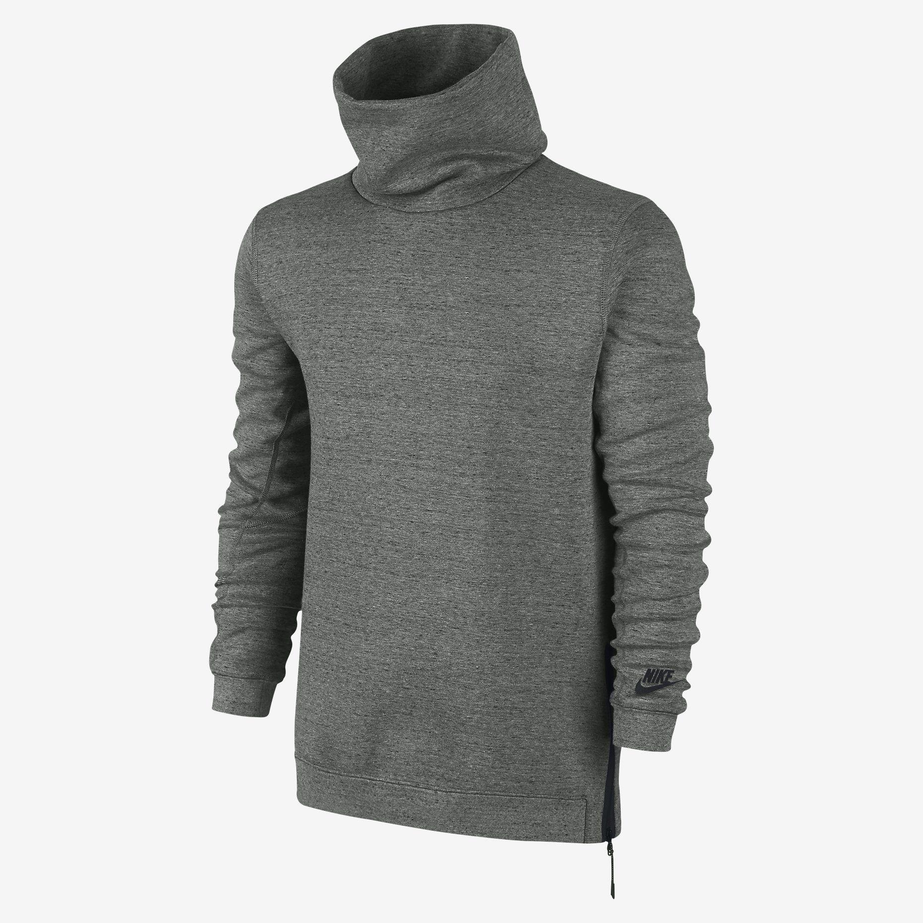 Nike Tech Fleece Funnel Men's Sweatshirt. Nike Store UK