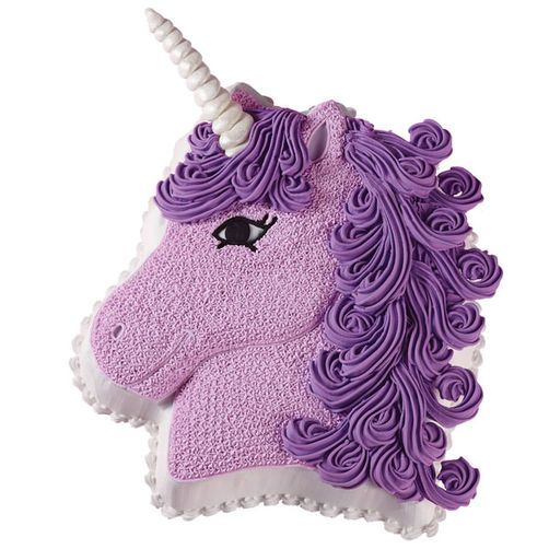 Pretty In Purple Unicorn Cake 2019