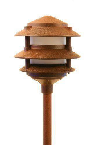 LED Low Voltage Landscape 3 Tier Pagoda Lights By Best Pro Lighting. $28.50