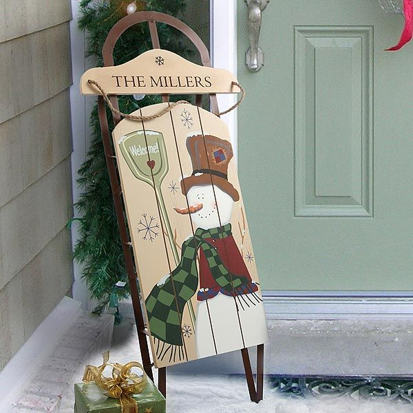 25 Most Coolest Ideas For Christmas Sleigh Decoration Decoration