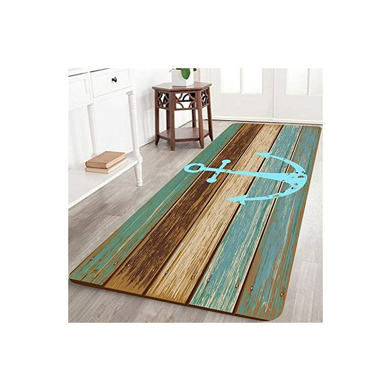 Bathroom Rugs Kitchen Rug Non Slip Soft Absorbent Bath Mats With