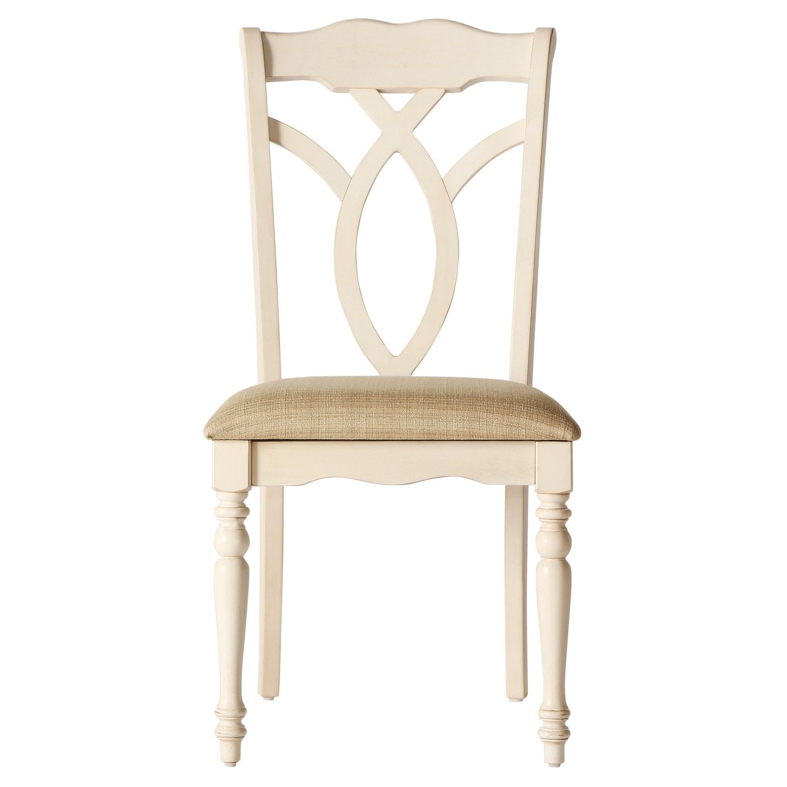 Wakefield dining chair woodantique white set of homelegance