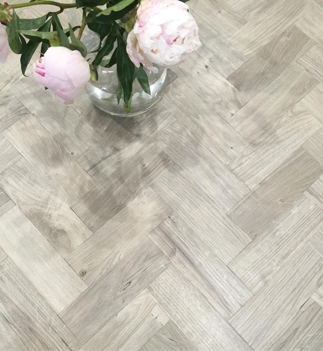 101 Likes 6 Comments Gem My Little House On The Prairie On Instagram A Flash Of Peonies And Some Gorgeous Herringbone In 2020 Herringbone Floor Flooring Amtico