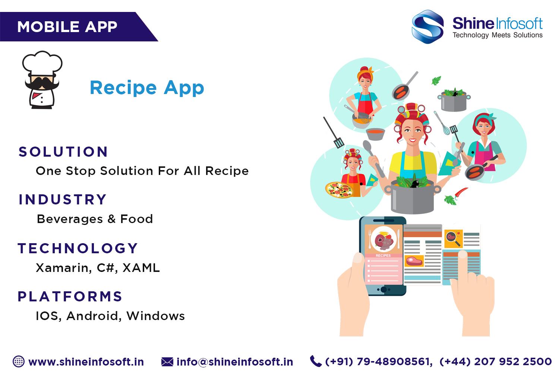 Shine Infosoft provide high quality mobile app