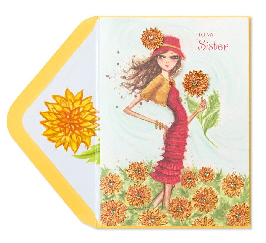 Bella Pilar Fashion Girl (For Sister) Price 6.95 (With