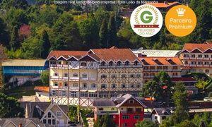 Groupon - Campos do Jordão/SP: 2 noites para 2 + café da manhã no Hotel Leão da Montanha – parcele sem juros em Campos do Jordão. Preço da oferta Groupon: R$249