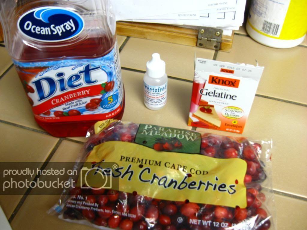 sugar free cranberry sauce recipe with jello