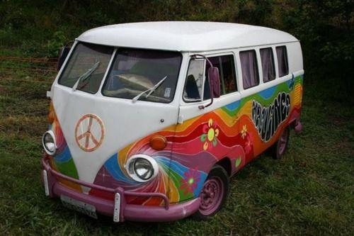 hippie style vw diy kreatives basteln deko pinterest vw bus cars and peace. Black Bedroom Furniture Sets. Home Design Ideas