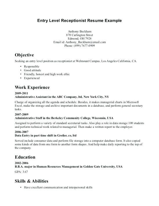 5 Star Resume Samples Pinterest Sample resume, Sample resume - example resume templates