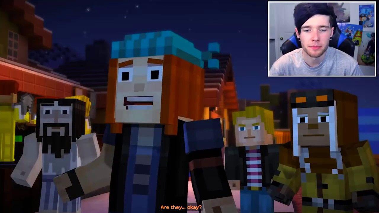 Minecraft Story Mode Reuben Is Back Episode 8 2 Minecraft