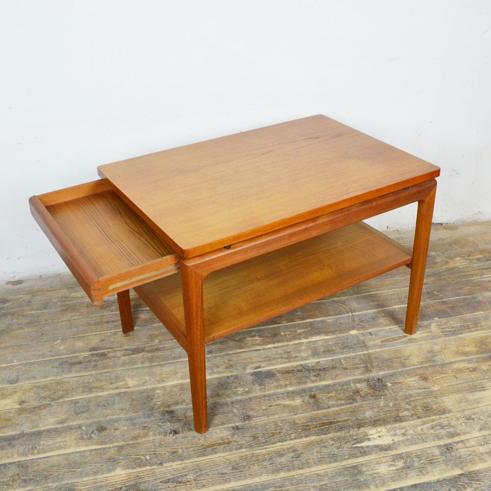 Coffee Table Teak Ff France Son Denmark Couchtisch