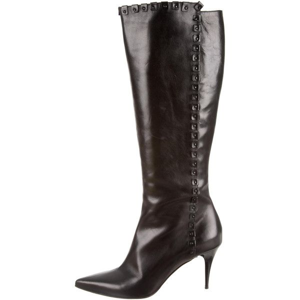 Pre-owned - Leather boots Burberry SOq8ad1u