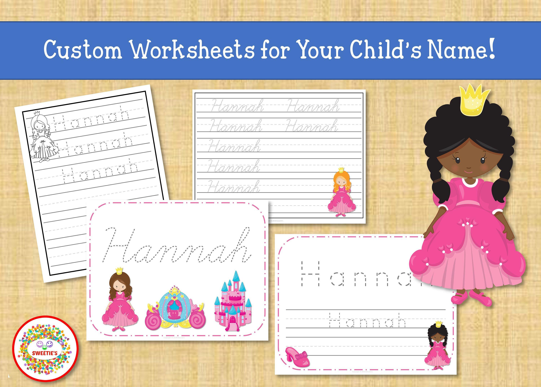 Name Tracing Handwriting Worksheet Personalized Name Etsy Writing Worksheets Handwriting Worksheets Name Tracing [ 2143 x 3000 Pixel ]