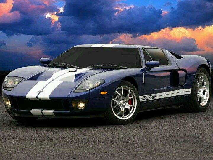 Purple Ford Gt Ford Gt Sports Car Car Wallpapers
