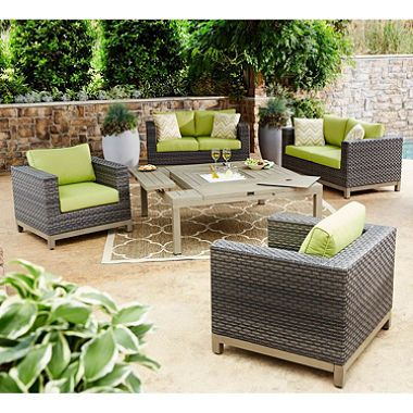 Members Mark Grand Cayman 5 Piece Collection Outdoor Seating Set