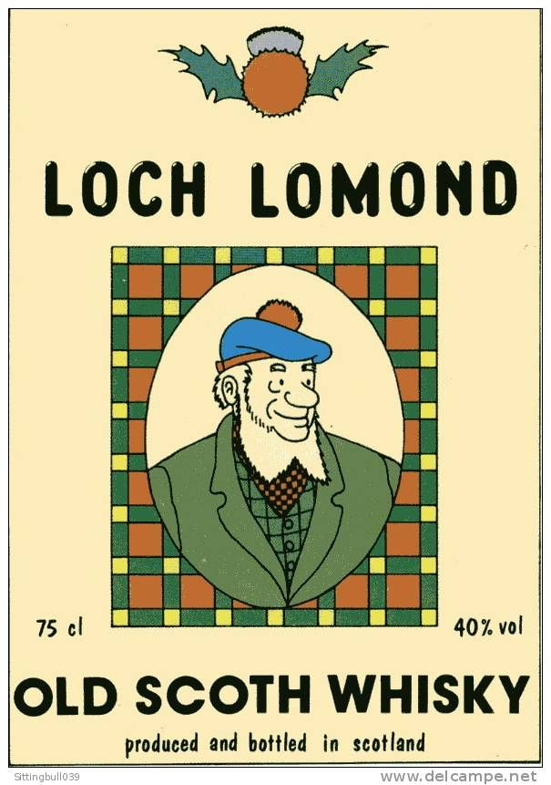 loch lomond whiskey tintin -