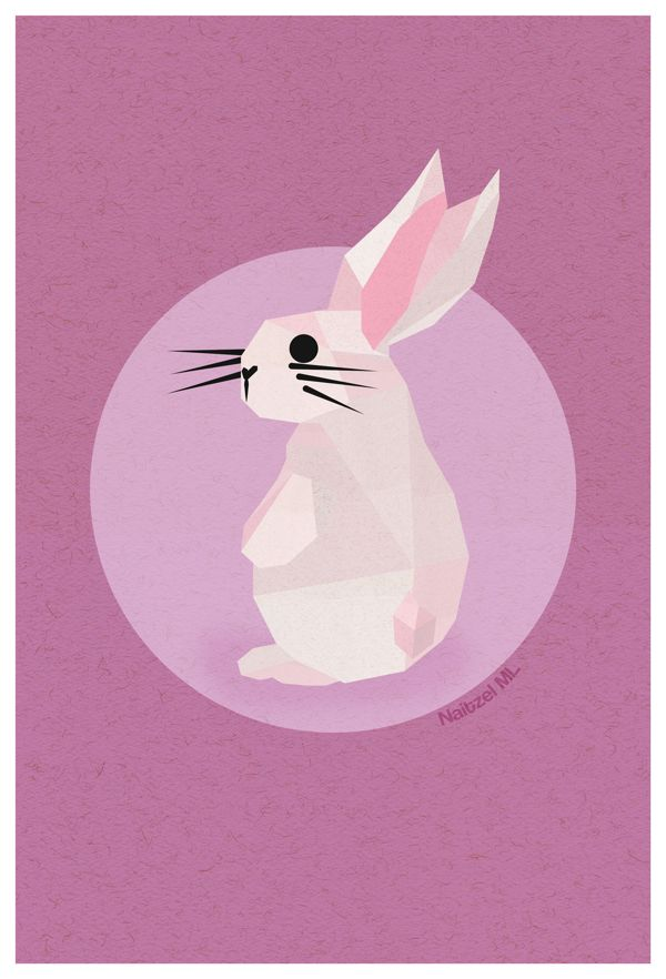 Arca a la Luna by Naitzel Manzano, via Behance #illustration, #bunny, #design,