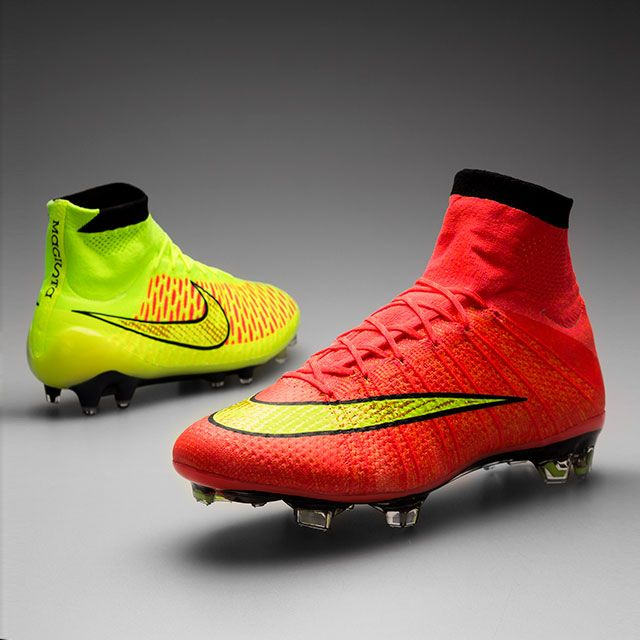 Nike Mercurial Superfly red and yellow