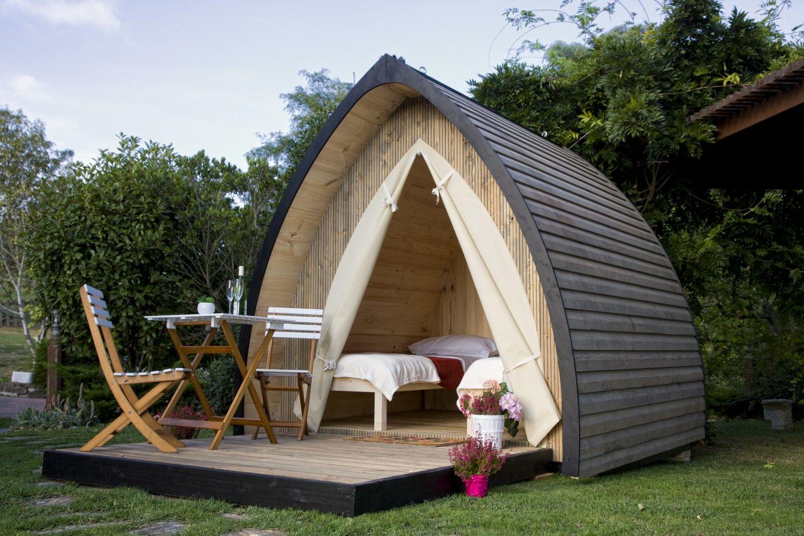 tente en bois haut de gamme chambre d 39 appoint h bergement atypique le kabia correspondra. Black Bedroom Furniture Sets. Home Design Ideas