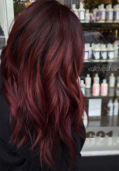 Shades Of Auburn Hair Color Photo 2