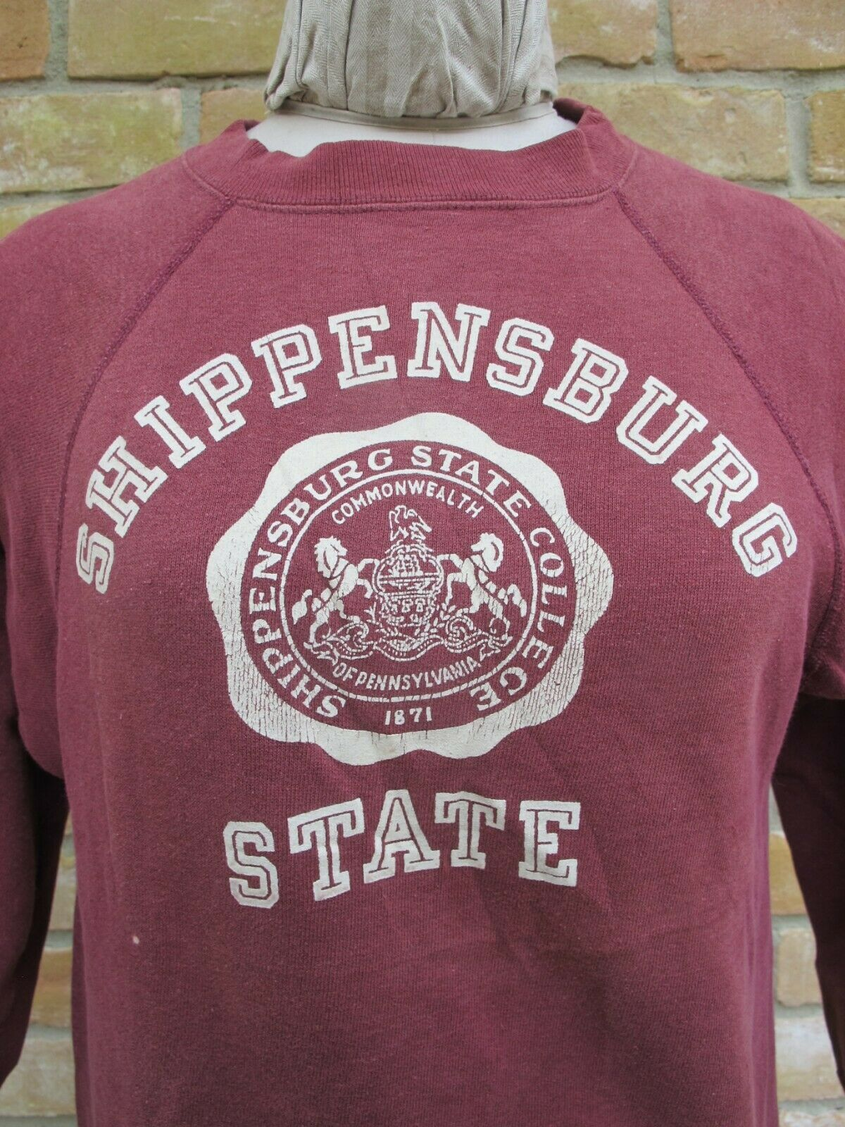 Goal Label Vintage University Shippensburg Runner Champion College HIeE9WD2Y
