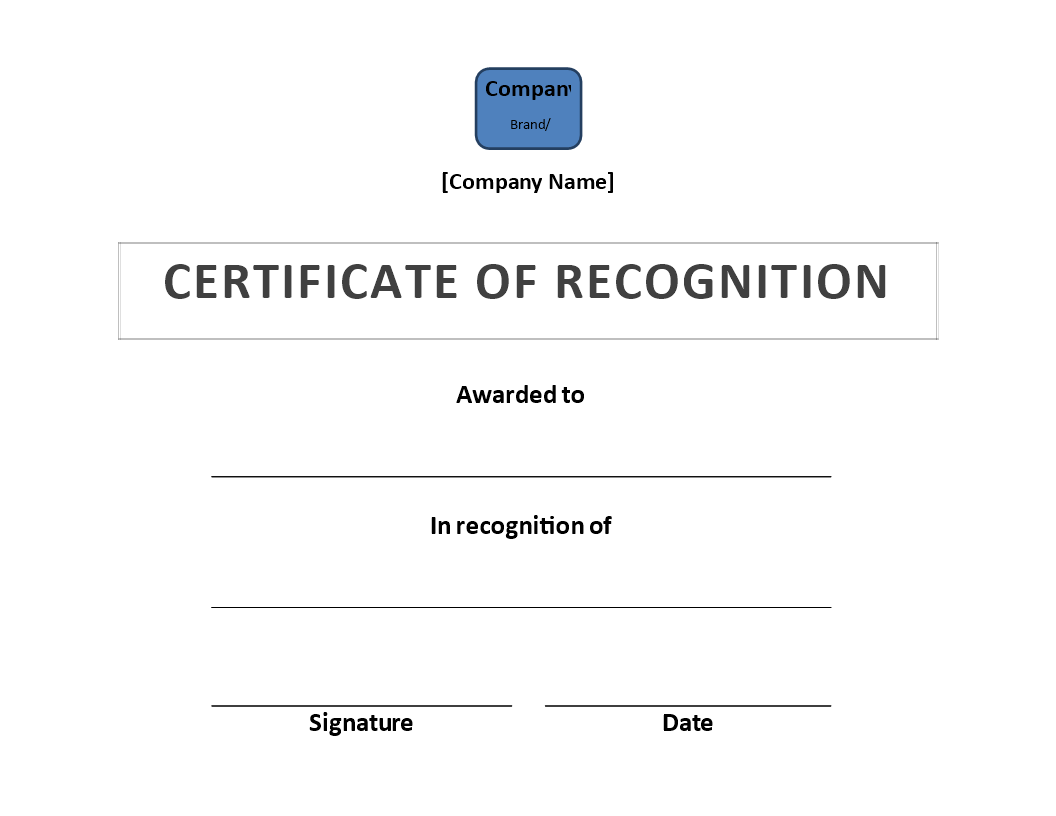 Certificate of recognition download this award of recognition certificate of recognition download this award of recognition certificate template to reward your staff xflitez Gallery