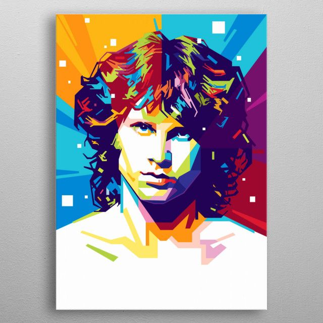 James Douglas Jim Morrison was an American singer, songwriter and poet, best remembered as…   Displate thumbnail